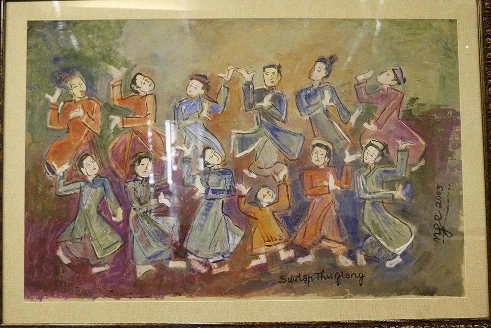 Tác phẩm Những chàng trai và cô gái nhảy múa