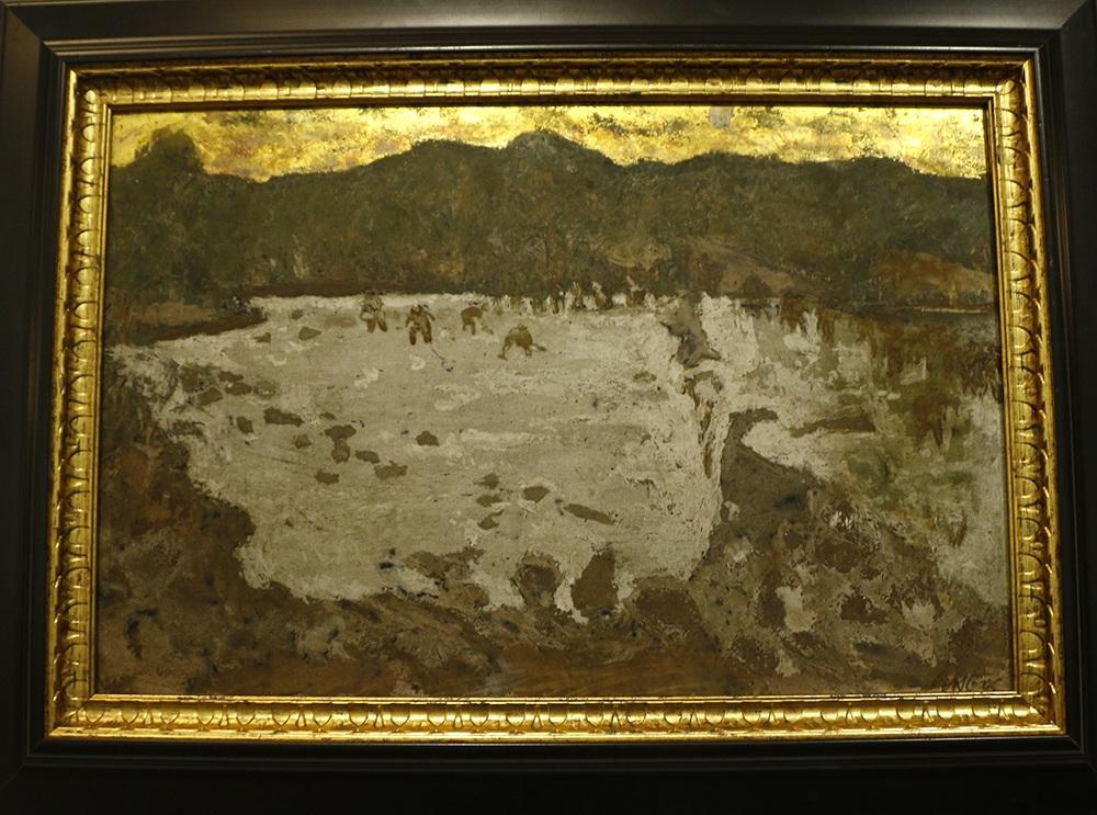 Tác phẩm Trận đánh của tác giả Nguyễn Sĩ Ngọc