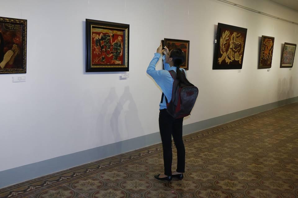 """Hình ảnh mới nhất tại triển lãm """"Những bức tranh trở về từ Châu Âu"""" - 19"""
