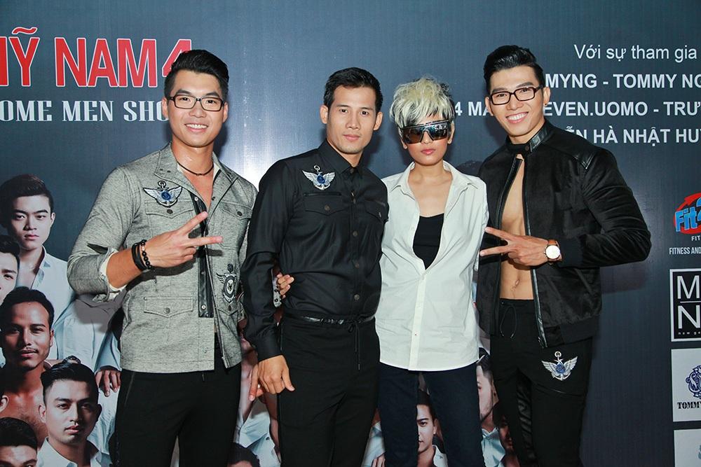 Trương Thị May đọ dáng chuẩn men không thu kém bất kỳ mẫu nam nào trong chương trình.