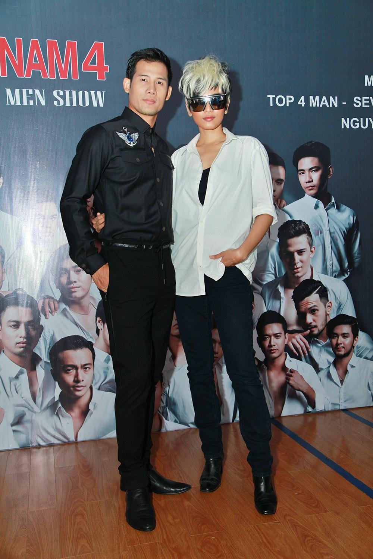 Trương Thị May cùng diễn viên Thanh Thức
