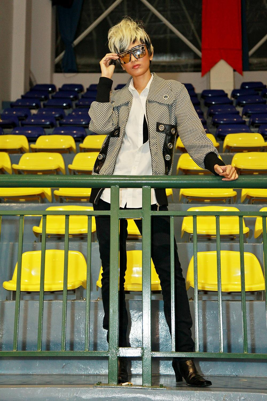 Hình ảnh cực ngầu của Trương Thị May trong vẻ ngoài nam tính và đầy ấn tượng