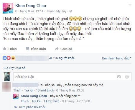"""Khi sao Việt """"mất lòng"""" đồng nghiệp vì fans hiếu chiến - 5"""
