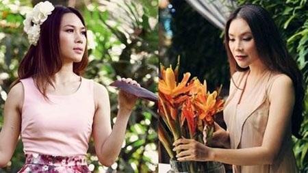 Cả 2 từng là bạn. Mọi chuyện trở nên xấu đi khi Mỹ Tâm từng được dự đoán đoạt giải Mai Vàng 2004, nhưng sau đó người chiến thắng lại là Hồ Quỳnh Hương.