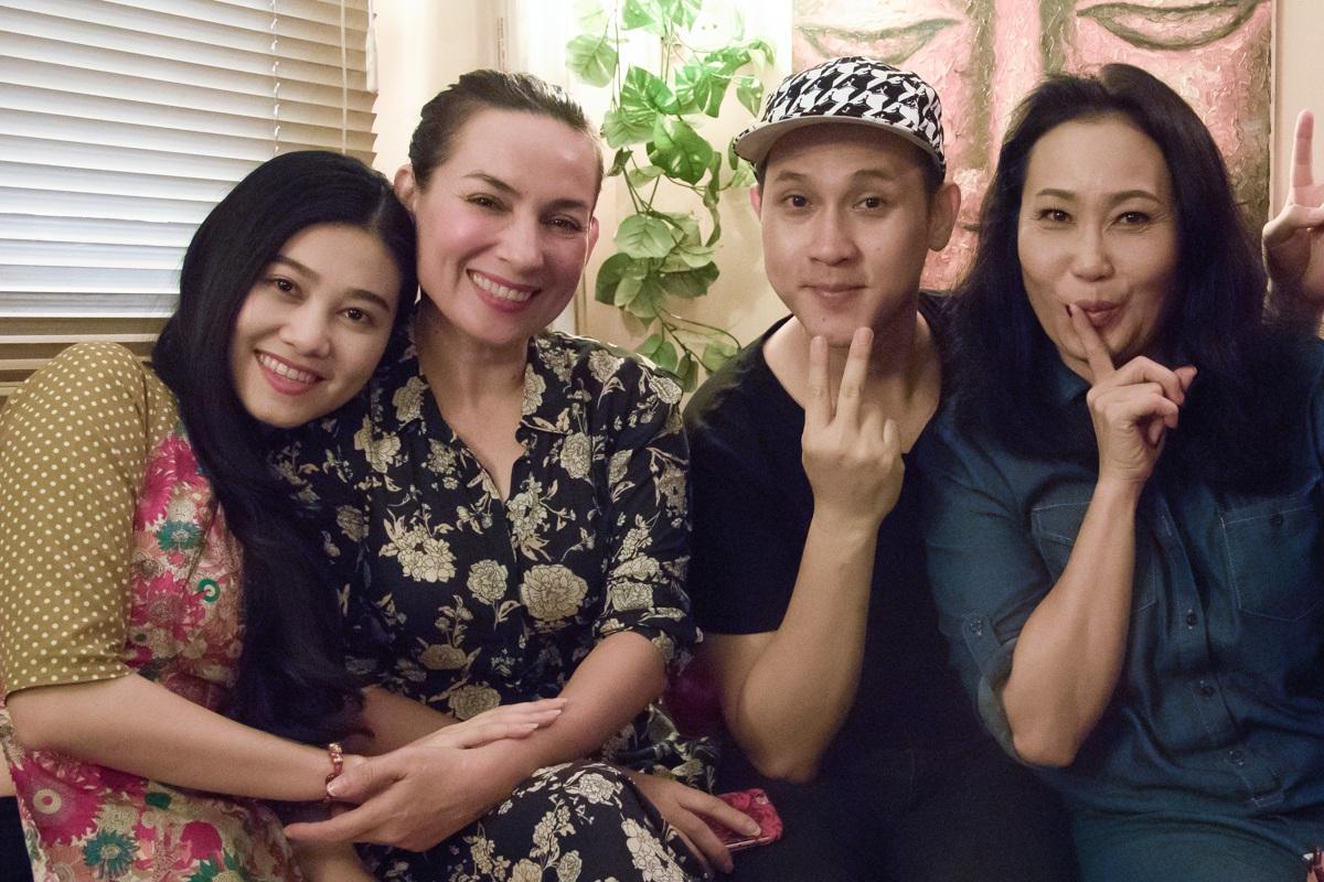 Nghệ sĩ Quế Trân, Phi Nhung, Nguyên Vũ và nghệ sĩ Thanh Hằng