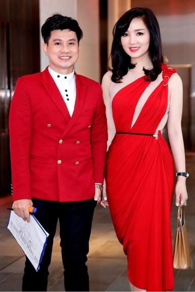 Giáng My diện đầm đỏ rực chấm thi tại Thái Lan - 8