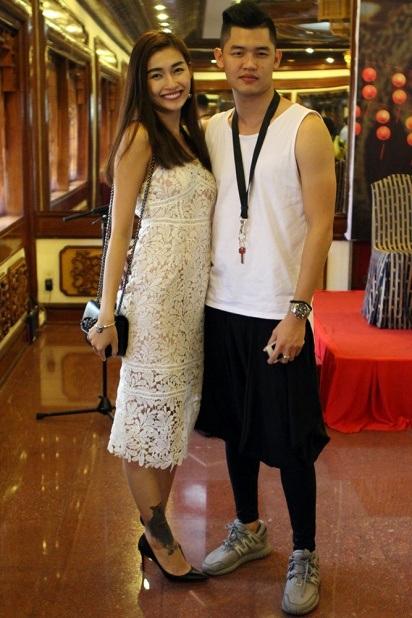 Người mẫu Tùng Anh và DJ Hà Linh Vân.