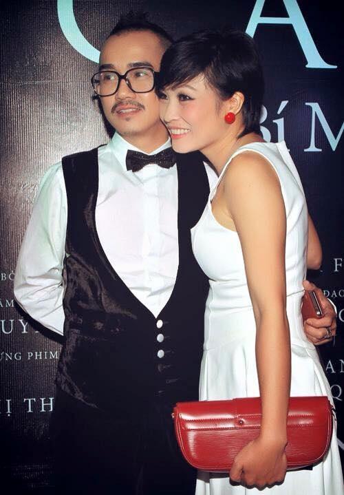 Phương Thanh và ca sĩ Minh Thuận thân thiết như người nhà từ khi cô chập chững bước vào con đường ca hát