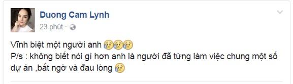 Ngập tràn dòng facebook nghệ sĩ Việt thương tiếc ca sĩ Minh Thuận - 5