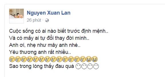 Ngập tràn dòng facebook nghệ sĩ Việt thương tiếc ca sĩ Minh Thuận - 6