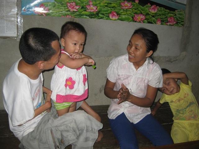 Tổ ấm của gia đình anh Lê Hồng Sơn