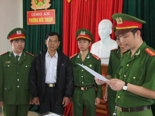 Cơ quan chức năng công bố lệnh cấm đi khỏi nơi cư trú đối với ông Phan Công Hiền