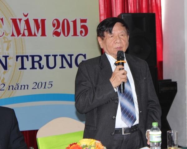 Phó Chủ tịch Hội Khuyến học Việt Nam PGS.TS Trần Xuân Nhĩ phát biểu kết luận hội nghị.