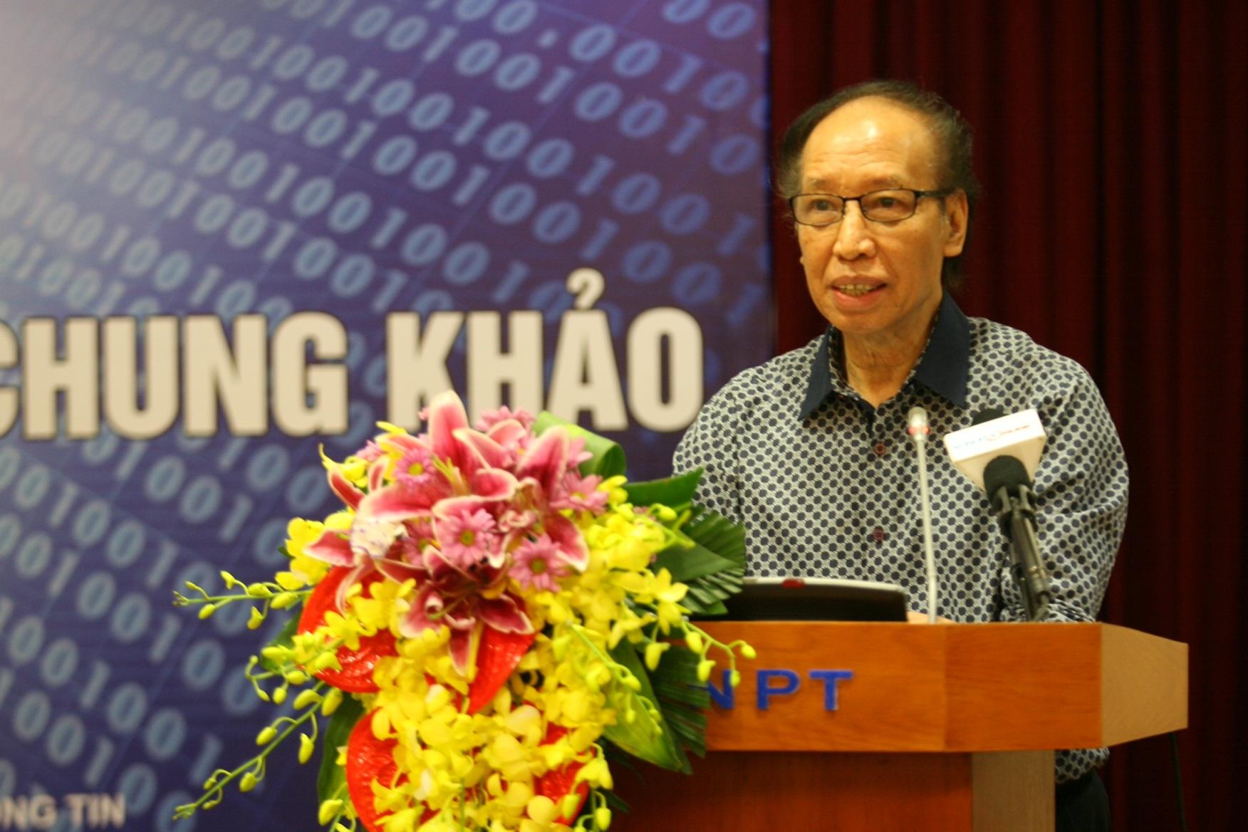 Nhà báo Phạm Huy Hoàn – Tổng biên tập Báo điện tử Dân trí, trưởng Ban tổ chức Giải thưởng NTĐV 2015 chia sẻ những thông tin thú vị về các sản phẩm dự thi
