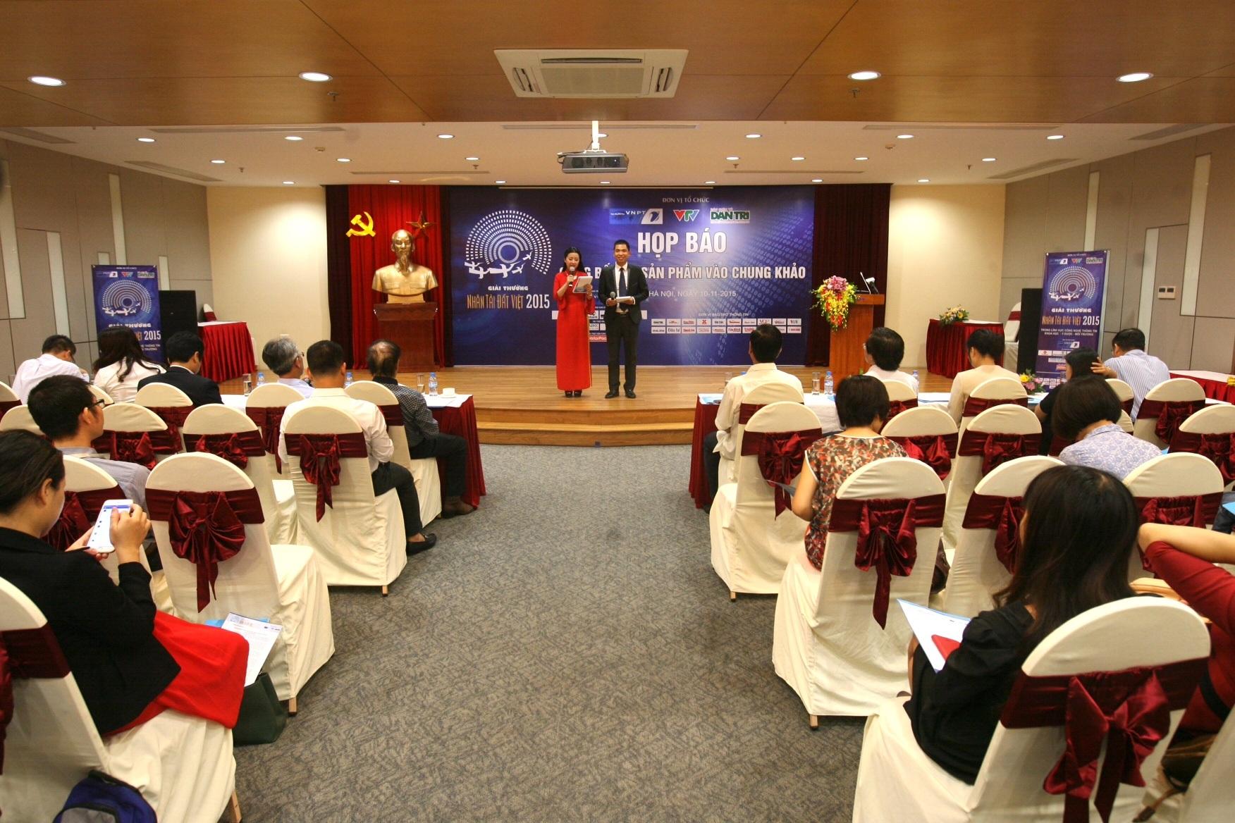 Lễ công bố sơ khảo thu hút được sự quan tâm của đông đảo báo chí