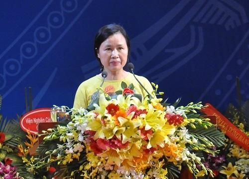 GS.TS Lê Thị Thanh Nhàn chia sẻ cảm xúc khi được công nhận là Nữ Giáo sư Toán học thứ hai của Việt Nam