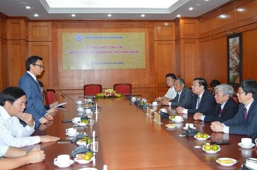 Phó Thủ tướng Vũ Đức Đam quán triệt tinh thần đổi mới đối với Tân Bộ trưởng Bộ KH&CN