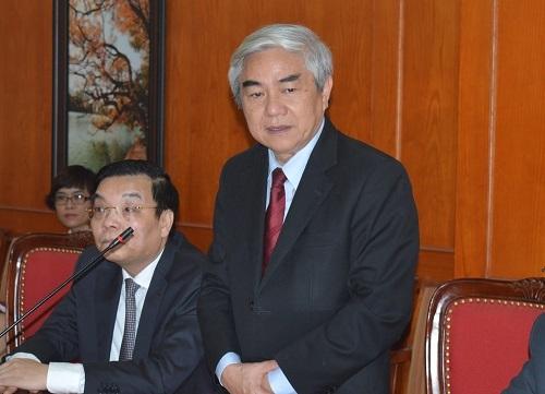 Nguyên Bộ trưởng Nguyễn Quân chia sẻ về công tác bàn giao với Phó Thủ tướng Vũ Đức Đam