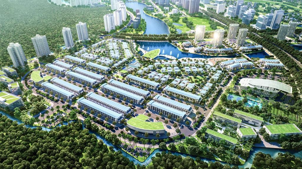 Ecopark mở bán đợt 1 biệt thự và nhà phố tại phân khu Aqua Bay ...