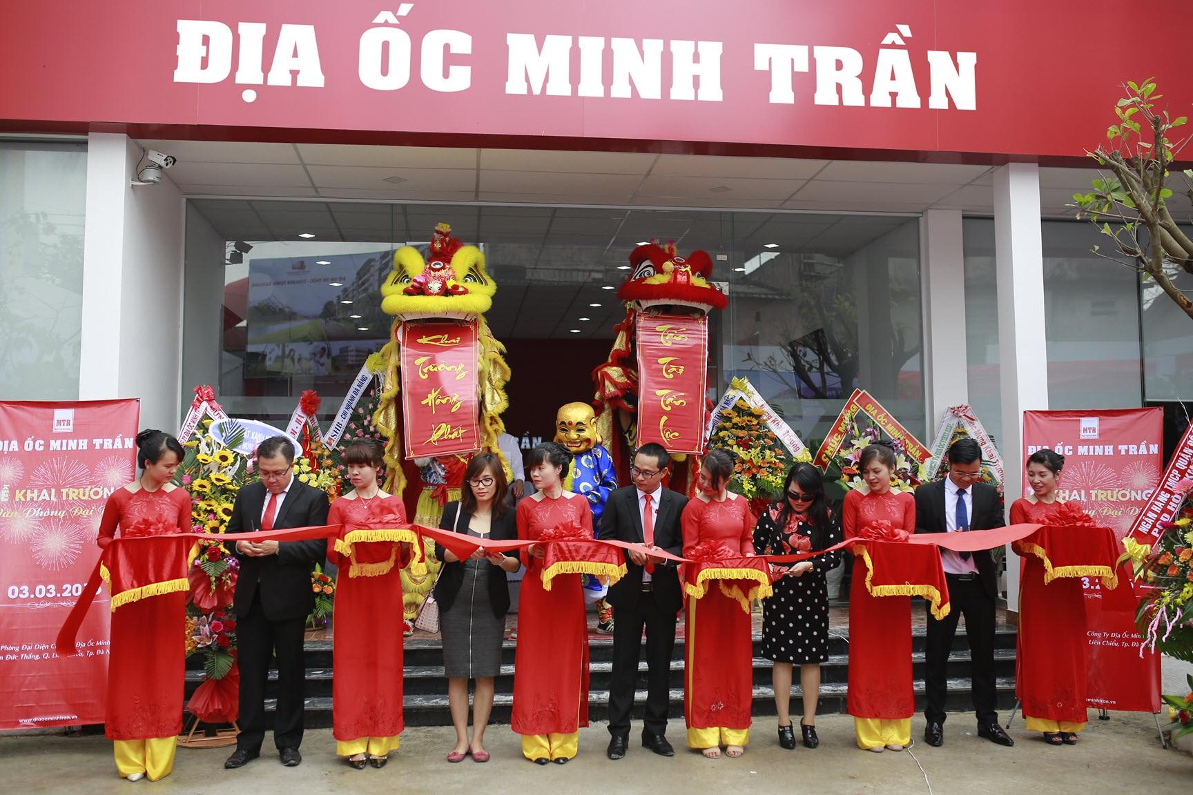 Địa ốc Minh Trần khai trương văn phòng đại diện - 1