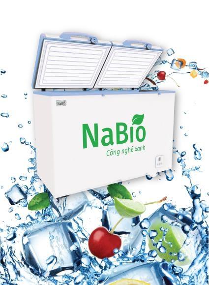 Tủ đông thế hệ mới NaBio2016
