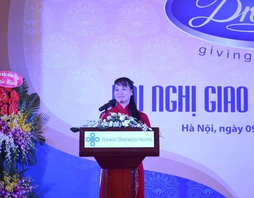 Tổng giám đốc công ty TNHH Vinatech Trịnh Thị Hậu