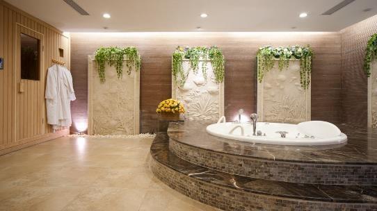 Phòng tắm sang trọng theo phong cách châu Âu