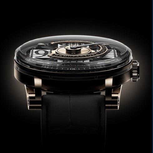 Mặt kính sapphire bao trọn toàn bộ bề mặt đồng hồ, cùng với việc lược bỏ vòng bezel giúp cho chủ nhân dễ dàng chiêm ngưỡng toàn bộ chi tiết của chiếc MCT S200 này.