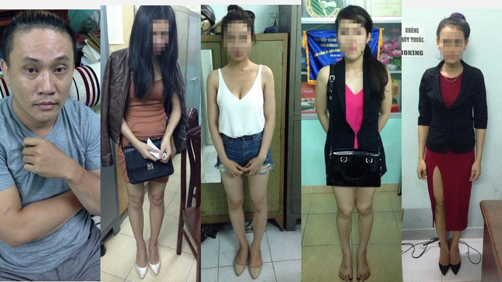 5 bị can trong đường dây diễn viên, người mẫu bán dâm bị đề nghị truy tố