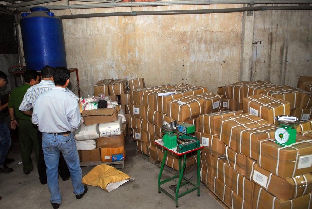 Kho chất tạo ngọt có xuất xứ từ Trung Quốc