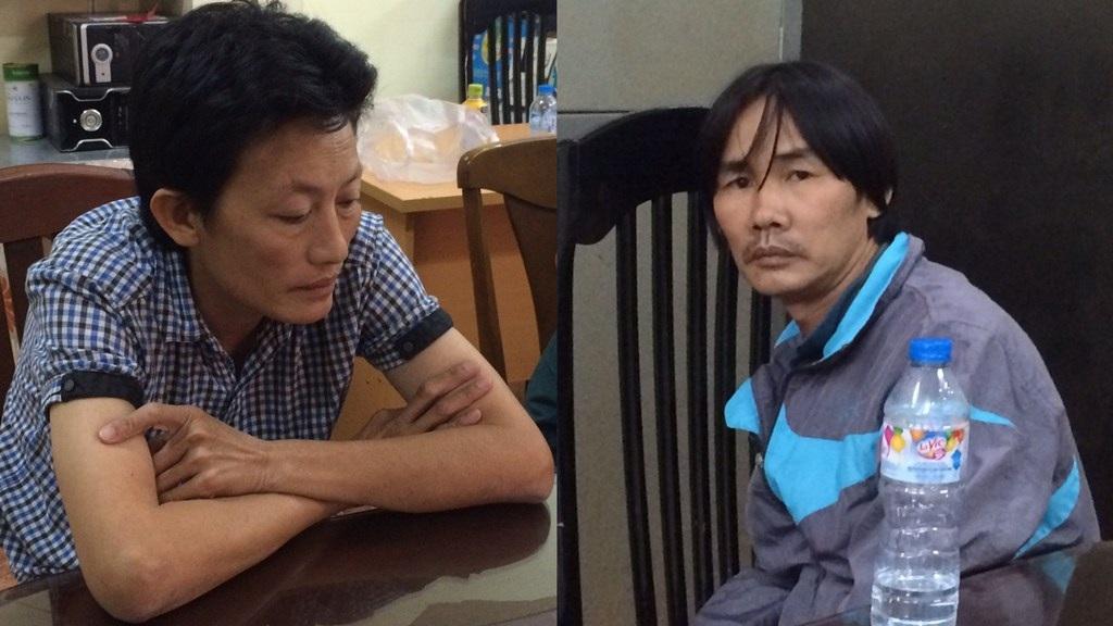 Nguyễn Thị Diệu (trái) và Nguyễn Hoàng Đạt