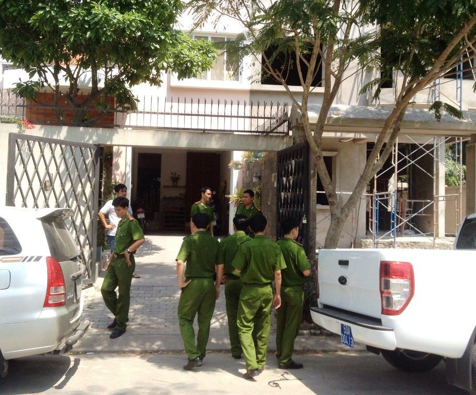 Công an khám nghiệm hiện trường 1 vụ trộm ở TPHCM: (ảnh minh họa)