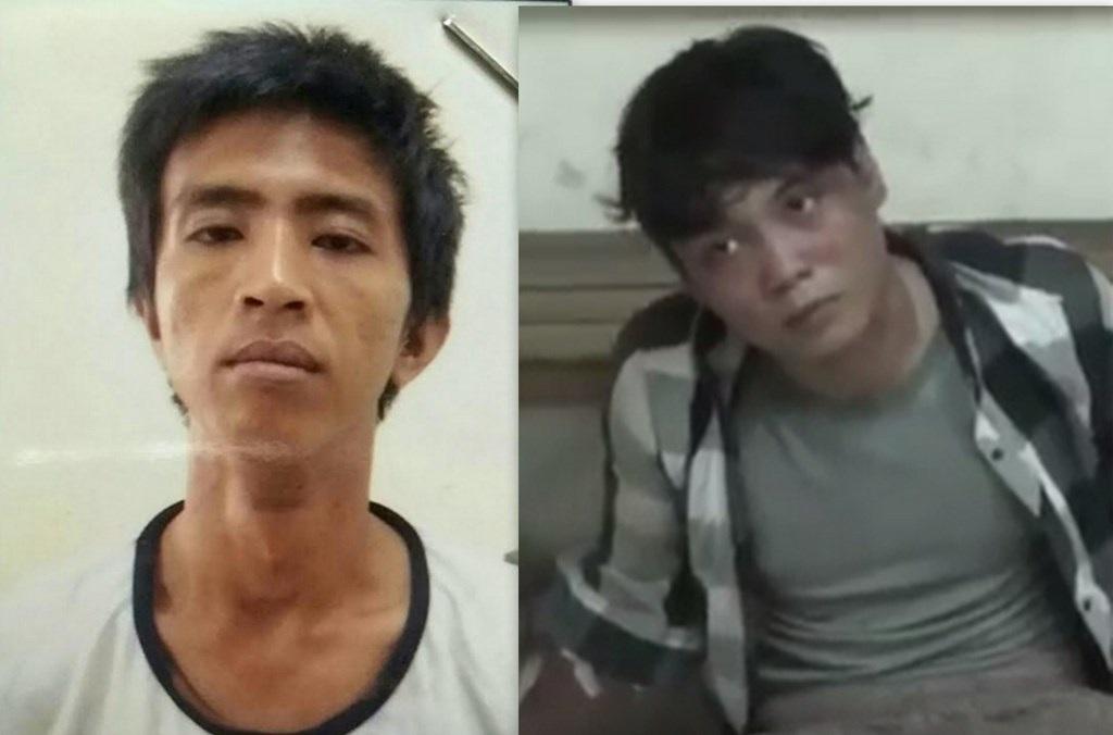 Phan Văn Hùng (trái) và Nguyễn Tấn Phúc