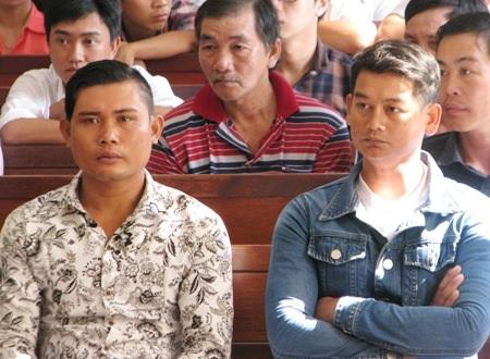 2 bị hại Thạch Sô Phách (trái) và Trần Văn Đở.