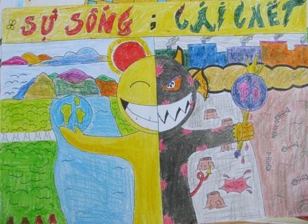 Học sinh sôi nổi thi vẽ tranh đón Tết Trung thu - 9
