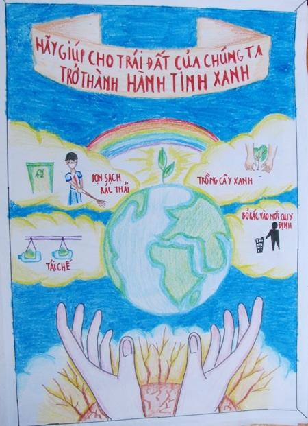 Học sinh sôi nổi thi vẽ tranh đón Tết Trung thu - 11