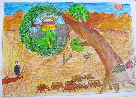 Học sinh sôi nổi thi vẽ tranh đón Tết Trung thu - 12