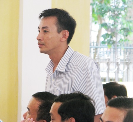 Anh Tô Huy Thông cho rằng, có biết bị cáo Hưng tham gia vụ án.