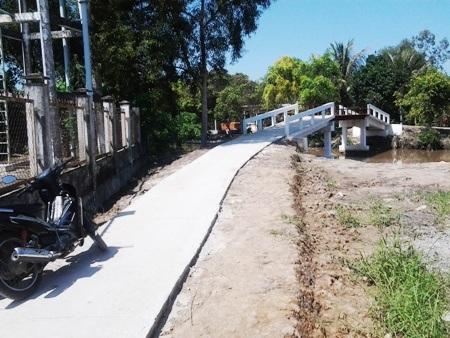 Ngày mai (27/10) khánh thành Cầu Khuyến học & Dân trí thứ 9 tại Bạc Liêu - 1