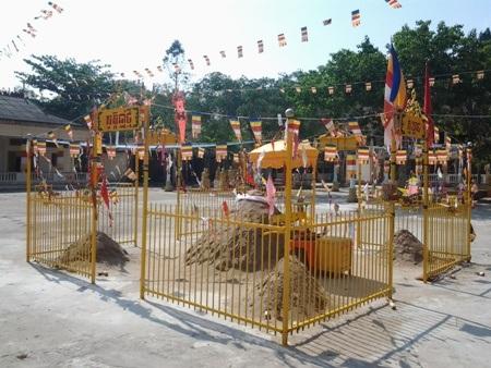 Chùa Khmer rực rỡ đón Tết cổ truyền - 9