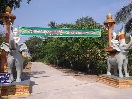 Chùa Khmer rực rỡ đón Tết cổ truyền - 11