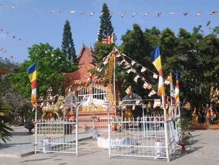 Chùa Khmer rực rỡ đón Tết cổ truyền - 14