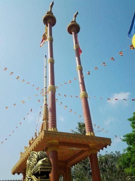 Chùa Khmer rực rỡ đón Tết cổ truyền - 15