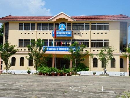 Trường CĐSP Sóc Trăng- nơi Hiệu trưởng bị tố có nhiều sai phạm.