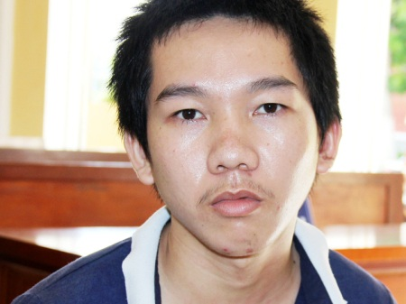 Nguyễn Thanh Tuấn tại tòa. (Ảnh: CTV)