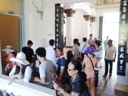Khu nhà Công tử Bạc Liêu là một trong những điểm du lịch hút khách ở tỉnh Bạc Liêu hiện nay.