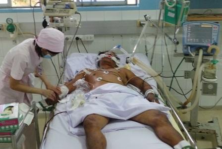 Bệnh viện Bệnh Nhiệt Đới đang điều trị tích cực cho người bệnh