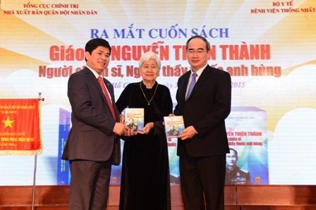 Lễ ra mắt cuốn sách về GS Thiện Thành tại bệnh viện Thống Nhất