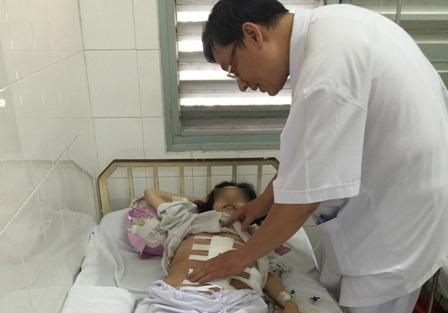 Sau phẫu thuật bệnh nhân đang dần bình phục sức khỏe