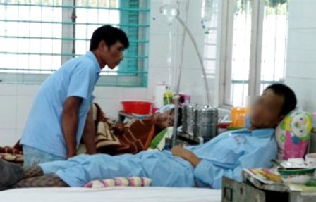 Bệnh nhân HIV điều trị tại bệnh viện Nhân Ái